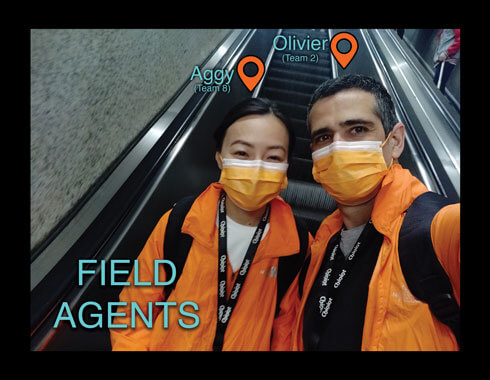 Virtual team building in Shanghai - China