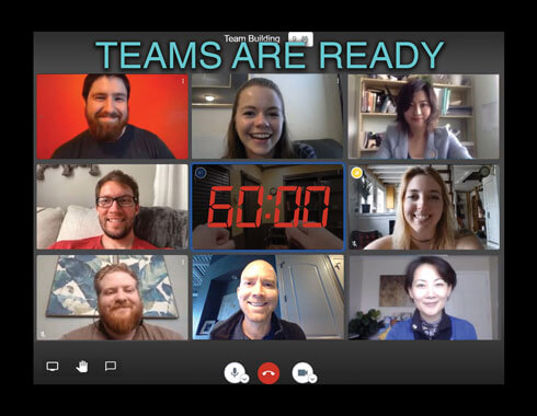 Virtual team building in China